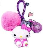 Hello Kitty Key Chain for Girls Women ❤Hello Kitty Gifts❤   Hello Kitty Figures Sanrio Birthday Gift Bag Accessories (pink)