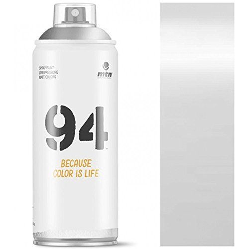 Pintura en spray MTN 94 Plata Joya 400ml