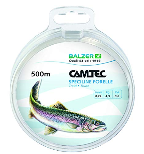CAMTEC SPEZILINE Forelle Zielfischschnur 0,25mm 500m