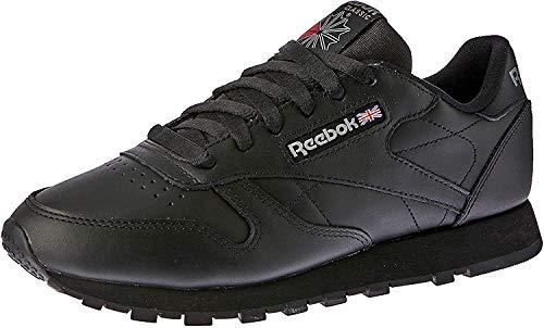 Reebok Classic Leather - Zapatillas de cuero para hombre, color negro (int-black), talla 41