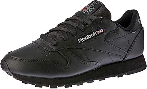 Reebok Classic Leather, Herren Sneakers, Schwarz (Int-Black), 48.5