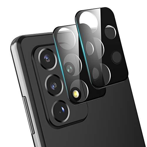 Foncent - Protector de pantalla para Samsung Galaxy A52/A72 5G, protección completa, antiburbujas, dureza 9H, antiarañazos y resistente a golpes