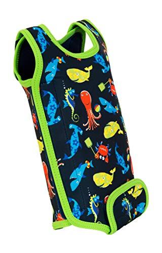Konfidence Babywarma Traje de Neopreno (6-12 Meses), Color, Unisex bebé, Personajes Azul Marino