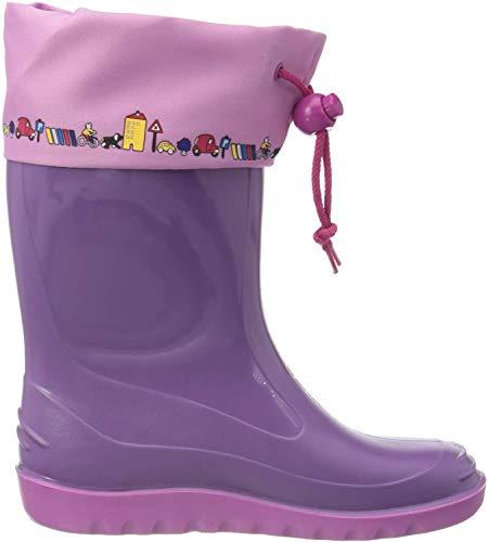 Romika Unisex-Kinder Jerry Gummistiefel, Violett (Violet Viola-pink 575), 28 EU