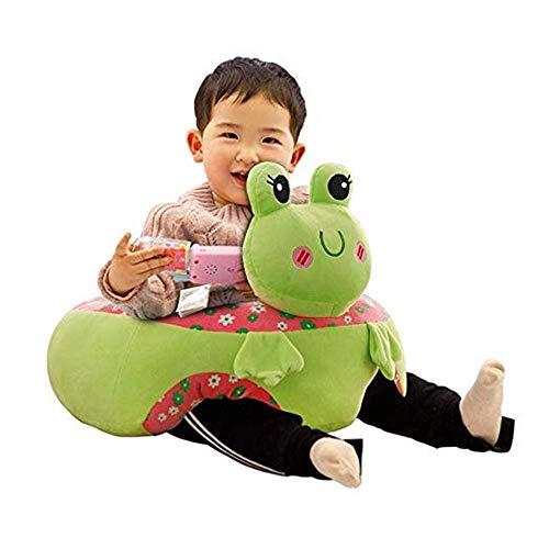 Canapé bébé Bébé soutien Seat Siting apprentissage souple Coussin de chaise Sofa enfants peluche oreiller Jouets grenouille cadeau animal en forme de sol Canapé sécurité Chaise alimentation Bébé Canap