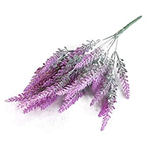 Fake Lavender Artificial Flower Simulation Faux Plants Beautiful Decoration Home Ornament Wedding Pink Purple