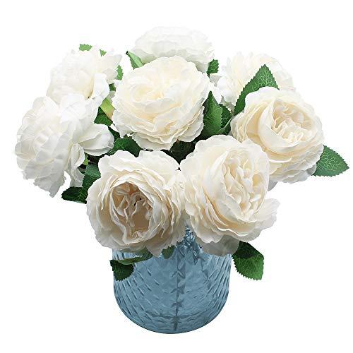 NewZC 8 Köpfe Künstliche Blumen...