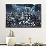 baiyinlongshop Leinwand Malerei Guernica Surreal Abstrakte