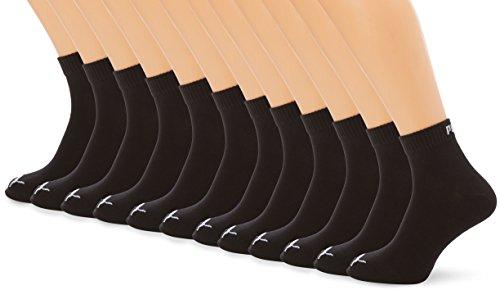 PUMA Quarters Pack de 12 Chaussettes de Sport, Homme, Quarters Sportsocken 12er Pack