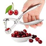 SUSSURRO - Snocciolatore per ciliegie, ciliegie e olive, in acciaio INOX