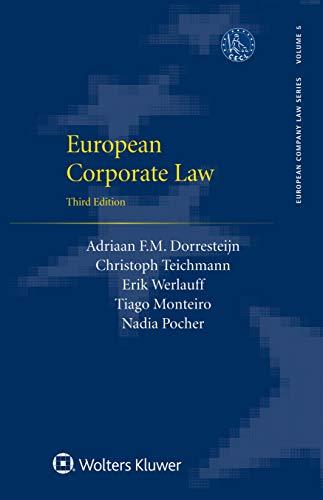 European Corporate Law (European Company Law Series) (English Edition)
