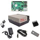 TAPDRA Raspberry Pi 3B +(B Plus)Arcadeフルキット128GB SDカードと18000+ゲームArcade RetroPie Emulation Station ES IRリモートコントロール