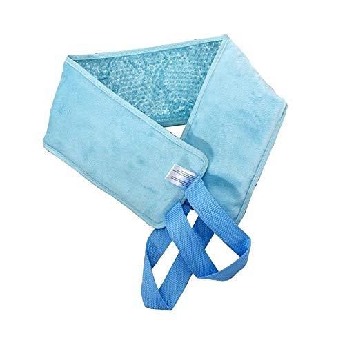 Amagogo Bolsa de Hielo en El Cuello Alivio de Los Dolores de Hombro en El Cuello Tratamiento de Envoltura de Perlas de Gel Reutilizables - Azul