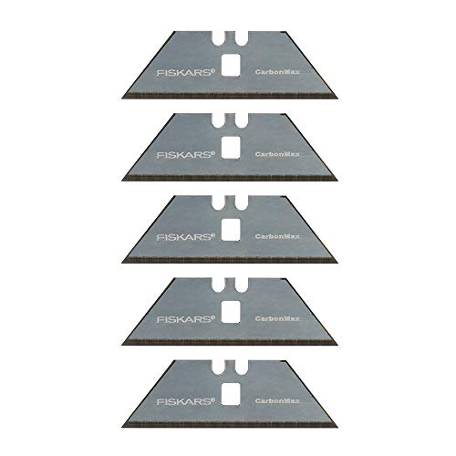 Fiskars 771010-1001 Pro Replacement Blades, 5 Pack, Silver