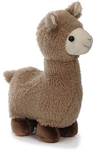 Bavaria Home Style Collection -Lama Alpaka - 27cm - Farbe Braun oder Beige - Plüsch, Plüschtier, Plüschlama, Kuscheltier , Kuscheltier für Kinder Spielzeug (braunes Alpaka Lama)