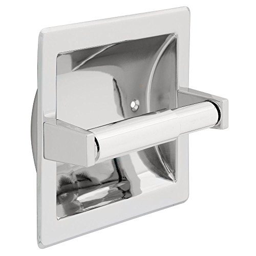 Franklin Brass D2497PC Futura Recessed Tissue Paper Holder, Polished Chrome