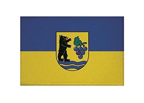 U24 Aufnäher Grenzach-Wyhlen Fahne Flagge Aufbügler Patch 9 x 6 cm