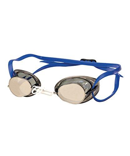 4173 Aquafeel schot mirror Wettkampfbrille, Farbe blau