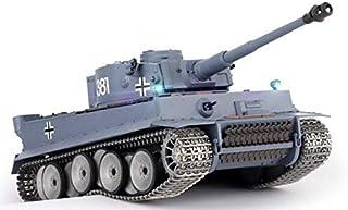 New Metal Tracks Edition 1/16 German Tiger I Airsoft RC Battle Tank Special Metal Tracks..