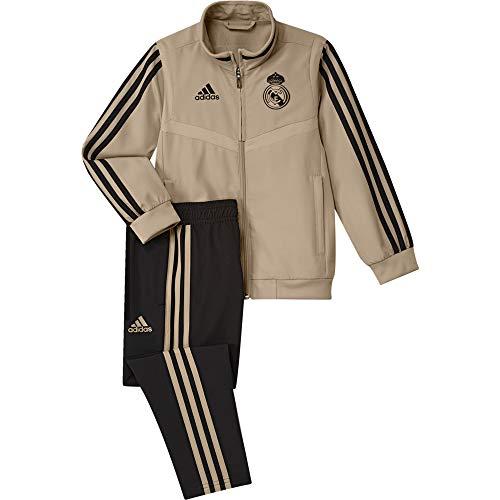 adidas Real PRE Suit I Chándal, Unisex niños, oronat/Negro, 92