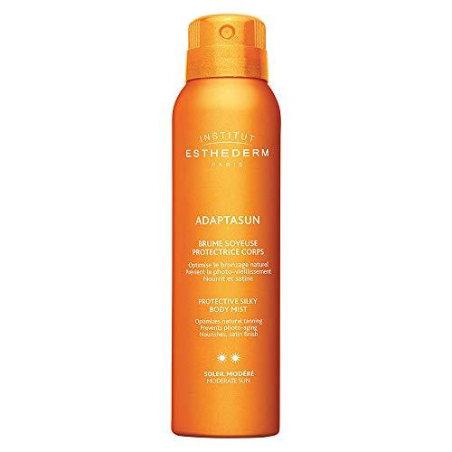 Institut Esthederm Adaptasun Protective Silky Body Mist hidratante corporal para estimular bronzeado 150 ml