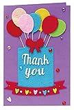 Juguetes artesanales DIY Tarjetas de felicitación Hecha a Mano niños Hecho a Mano Material no Tejido Craft Toys Kids Creative 3D Puzzle Juguetes Educativos Sencillo (Color : Thank You)