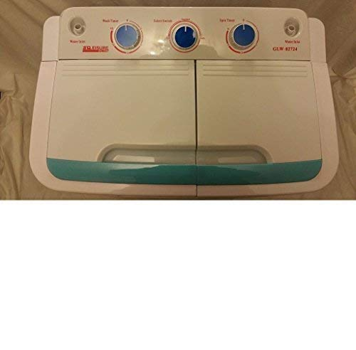 PORTABLE 230V TWIN 4.6KG WASHING MACHINE WITH ELECTRIC PUMP IDEAL FOR...