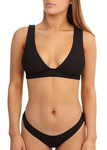 Rip Curl Bikini Premium Surf Deep V - Black XS