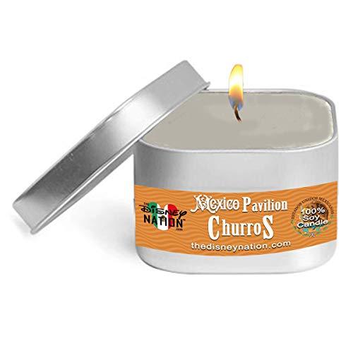 Churros Mexico Pavilion Disney Parks 8oz - 100% Soy Wax Candles