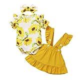 Amissz Babykleidung Set Baby Mädchen (0-18M) Langarm Romper Kleinkind Neugeborenes Kleidung Outfit Tops Hosen Babyset Kleidung