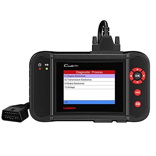Launch obd2 Fehlercodelesegerät CReader VII+ obd2 Diagnosegerät,Fehler von Vier System (ABS SRS Motor Getriebe) auslesen und löschen
