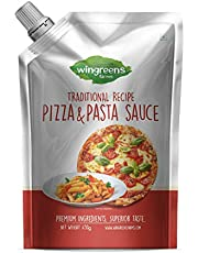 Wingreens Farms- Pizza 'N' Pasta Sauce (Pack of 1-450g)
