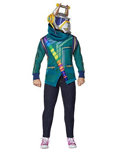 Spirit Halloween Kids DJ Yonder Fortnite Costume | Officially Licensed - L