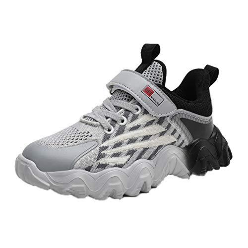 Zapatillas de Deporte para niños Zapatillas de Malla Informales Antideslizantes Transpirables para niños Zapatillas Deportivas Ligeras para Caminar al Aire Libre para Correr