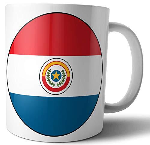 Paraguay Vlag - Thee - Koffie - Mok - Beker - Verjaardag - Kerstmis - Cadeau - Geheime Kerstman - Stocking Filler