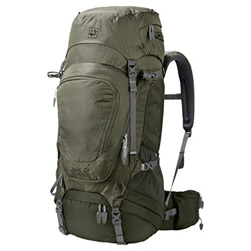 Jack Wolfskin Damen Highland Trail Xt 50 Wandern Outdoor Trekking Rucksack, Woodland...