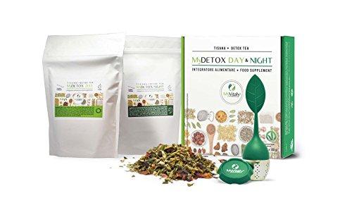 MyDetox Day&Night - Detox Tea I Integratore naturale per...