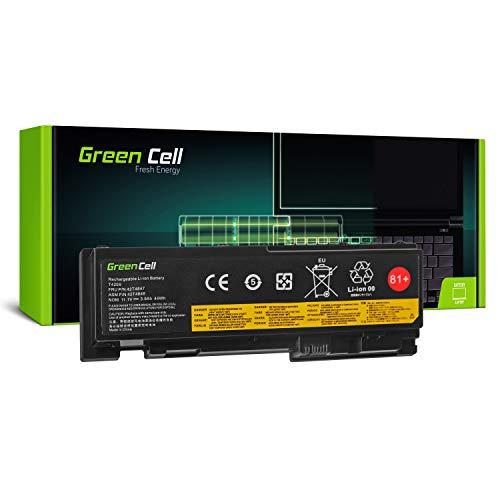 Green Cell® 42T4844 42T4845 0A36287 Laptop Akku für Lenovo ThinkPad T420s T420s-4175 T420si (Li-Polymer Zellen 3600mAh 11.1V Schwarz)