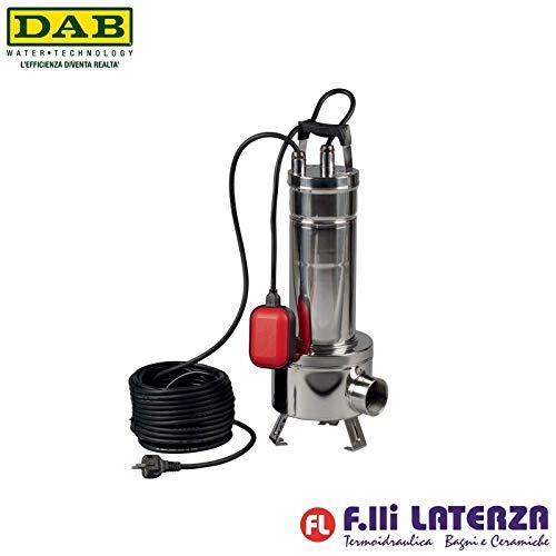 DAB FEKA VS 550 M-A - centrifugaalpomp dompelpomp van roestvrij staal met vlotter voor afvoer van afvalwater 0,55 kW/0,75 HP eenfasig
