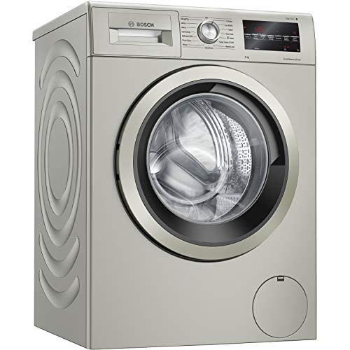 Bosch WAU28TS1GB Serie 6 9kg 1400rpm Freestanding Washing Machine - Silver
