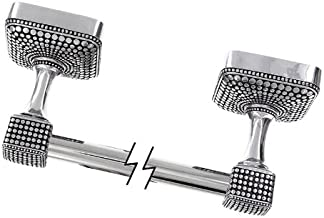 Vicenza Designs TB8005 Tiziano Towel Bar, 18-Inch, Vintage Pewter