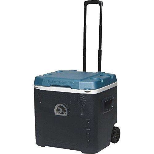 Igloo Quantum MaxCold Roller Cooler 52 qt. Blue
