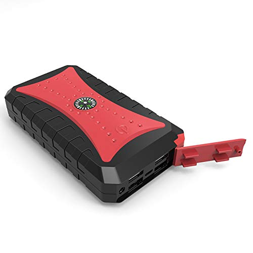 Lowest Prices! Car Jump Starter Battery Booster 600A 12000mAh Car Starter for (5L Petrol and 2L Dies...