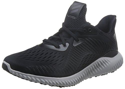 adidas adidas Unisex Alphabounce EM Laufschuhe, Schwarz (Core Black/Footwear White/Utility Black), 43 1/3 EU