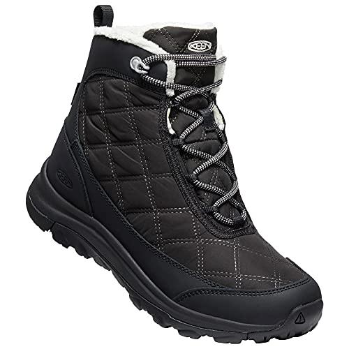 KEEN Terradora II Wintry Boot WP, Botas para Nieve Mujer, Black, 39 EU