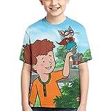 If You Give A Mouse A Cookie Kids Sports Short Sleeve Anime Cartoon T-Shirts 3D Print Boys Fashion T-Shirts Black
