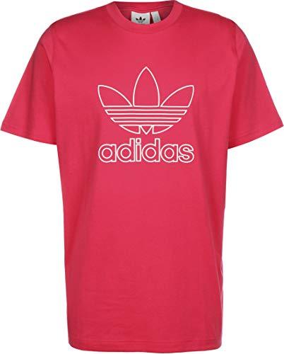 adidas Trefoil Tee Out T-Shirt, Power Pink, Medium pour des Hommes