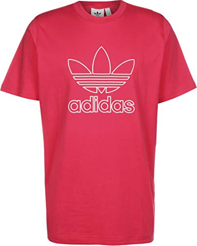 adidas Trefoil Tee Out T-Shirt, Power Pink, Small pour des Hommes