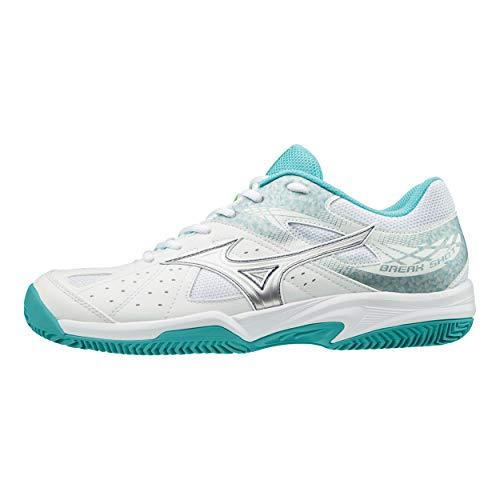 Mizuno Break Shot 2 CC Chaussures de Tennis/Padel pour Femme