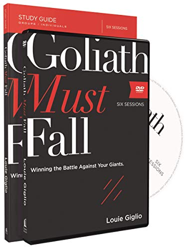 Compare Textbook Prices for Goliath Must Fall Study Guide with DVD: Winning the Battle Against Your Giants Study Guide Edition ISBN 9780310083771 by Giglio, Louie